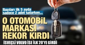 Türkiye'de 2018'in ilk 5 ayında en çok satan markaları İsveçli Volvo ilk 20'de
