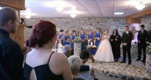 Gelin damadın eski eşini düğünde gördü – Nikahı durdurup bakın ne yaptı