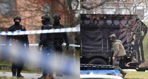 Stockholm'de keskin nişancılar operasyona dahil oldu