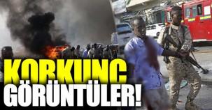 Somali'deki korkunç saldırının ilk görüntüleri