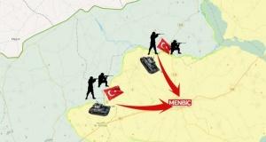 Türkiye Menbiç'e girdi