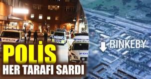 Rinkeby'i polis sardı