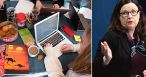 """İsveç eğitim bakanı Anna Ekström """"Liseler açılabilir"""" dedi"""