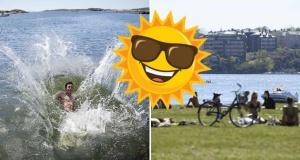 İsveç'te yaz sıcakları geri geliyor