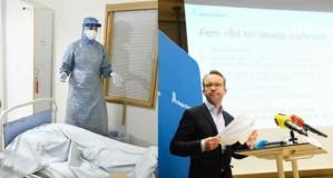 İsveç'teki salgının merkezi Stockholm'de endişe veren rakamlar