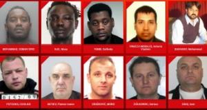 Avrupa'da en çok aranan cinsel saldırı suçlularının fotoğrafları yayınlandı