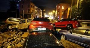 Belçika aşırı yağışlar nedeniyle tekrar sel felaketi yaşıyor