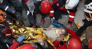 Umudun adı 4 yaşındaki minik Ayda: Tam 91 saat sonra sağ çıkarıldı