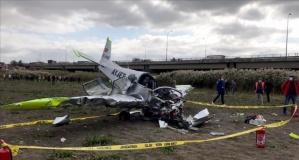 İstanbul'da uçak kazası