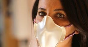 Türkiye'de yapılan altın ve gümüşten maskeler satışa sunuldu