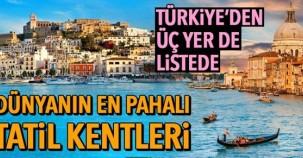 2018 Turistler için en pahalı 10 şehir