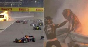 Formula 1 GP'de görülmemiş kaza!