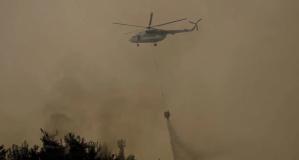 Türkiye'deki orman yangınlarına 6 ülkeden hava desteği