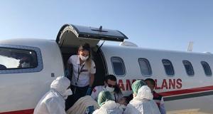 Diyabet hastası 9 yaşındaki Nihal ambulans uçakla Türkiye'ye götürüldü