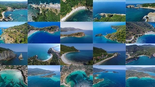 Genelde yaz tatili için gurbetçiler, merkezi yerlerde deniz ve güneşin tadını çıkararak tatil yaparlar. Bu yıl koronavirüs etkisiyle her ne kadar önceki yılların tatil tadı kalmasa da, özellikle covid-19 sürecinde kalabalıktan arınmış koylarda tatil yapmak çok daha sağlıklı görünüyor.  Türkiye'nin mavi ile yeşili buluşturan birbirinden güzel koyları, normalleşme süreciyle yerli ve yabancı turistleri kendine çekiyor.  Türkiye'nin birbirinden güzel koyları, yeni tip koronavirüs (Kovid-19) salgını tedbirlerinin ardından kontrollü normalleşme süreciyle yerli ve yabancı turistleri ağırlıyor.  Her şeyden uzak, sakin ve keyifli tatil için üç tarafı denizlerle çevrili Türkiye'yi tercih edenler, mavi ve yeşilin buluştuğu koylarda eşsiz zamanlar geçirmenin keyfine varabiliyor.