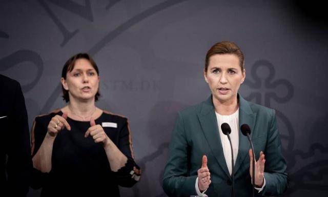 Danimarka koronavirüsle mücadele konusunda sert önlemler almaya devam ediyor.  Danimarka başbakanı koronavirüs nedeniyle 13 Nisan'a kadar tüm sınırlarını kapattığını açıkladı.