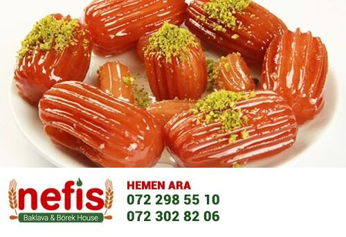 Tulumba Tatlısı: Anadolu toplumunun vazgeçilmezi olan tulumba tatlısı da gönül rahatlığı ile tüketilebilir.