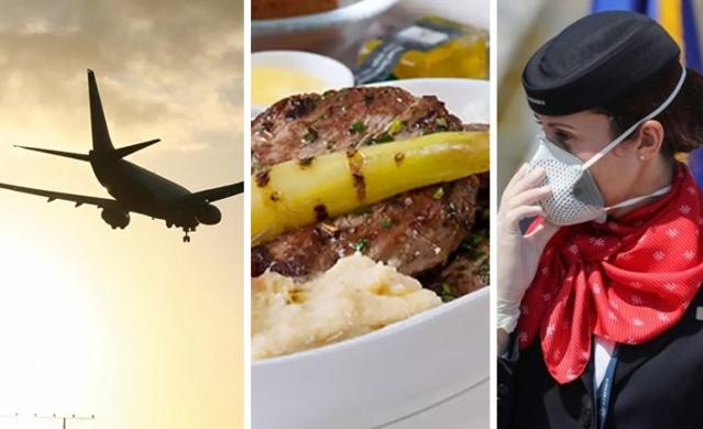 Uzmanlar, havayolu şirketlerinin uçakta ikram edilen yiyeceklere ilişkin katı güvenlik standartlarına uyduklarını ancak, uçağın rötar yapması durumunda bazı yiyeceklerin artık yenecek durumda olmayabileceğini belirtti.