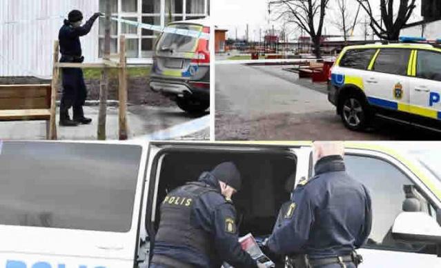 İsveç'in Västerås şehir merkezi polis tarafından kapatıldı.  Edinilen bilgilere göre, şehir merkezinde meydana gelen bir soygun sonrasında soyguncuların bıraktığı paket bomba şüphesi nedeniyle polisi harekete geçirdi.