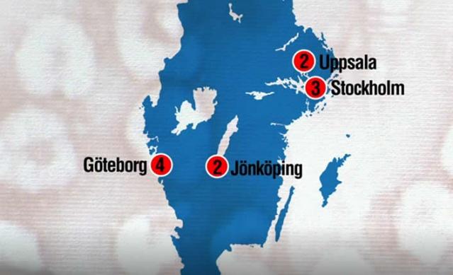 İsveç'te son günlerde arka arkaya giderek artan virüs vakaları endişe yaratıyor.  İsveç'in 3 şehrinde bugün 4 yeni koronavirüs vakası çıktı.  İsveç basınında da yer alan habere göre, bugün Stockholm'de iki, Uppsala'da bir ve Jönköping'de bir olmak üzere dört kişide virüse rastlandığı doğrulandı.