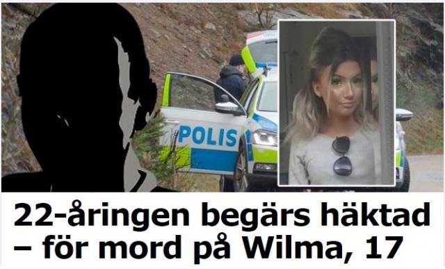 İsveç'te günlerdir kayıp olan ve her yerde aranmasına rağmen hala bulunamayan 17 yaşındaki Wilma Andersson olayıyla ilgili bir kişi tutuklandı.