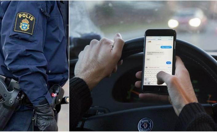 İsveç'te araç kullanırken cep telefonu kullanana anında ceza kesilecek
