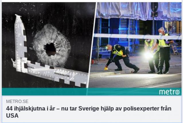 44 kişinin infaz edildiği İsveç'e Amerika'dan yardım