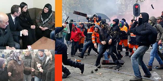 4 Türk çocuğu yetim bırakan Belçika Polisi'ne tepki büyüyor!