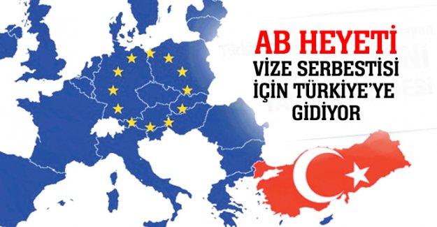 AB heyeti vize serbestisi için Türkiye'ye gidiyor