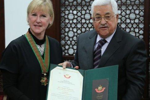 Abbas, İsveç Dışişleri Bakanı Wallström ile telefonda görüştü
