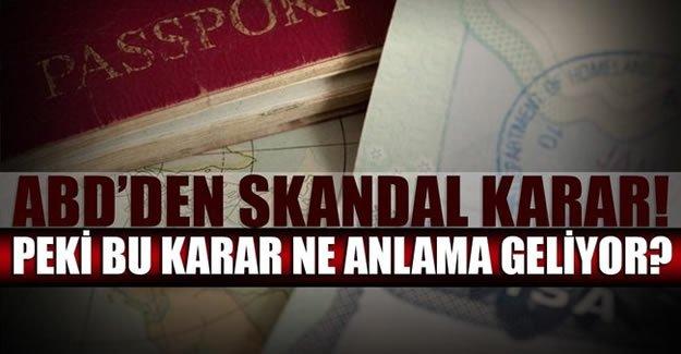 ABD Büyükelçiliği'nden skandal karar