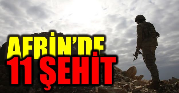 Afrin Harekatı'nda acı haberler!