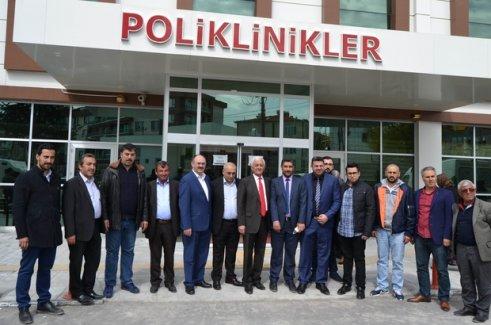 AK Parti İsveç heyeti Kulu'da