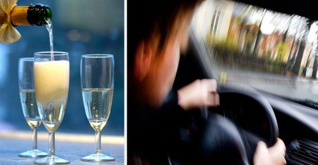 Alkollü park arayan şoföre 56 bin kron ceza