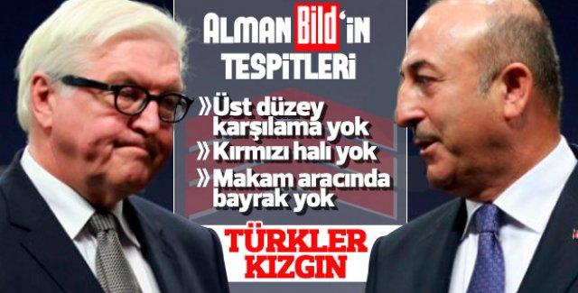 Alman Bild yazdı: Türkler çok kızgın