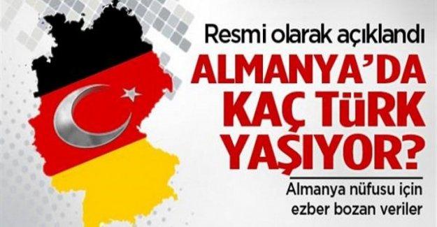 Almanya'da ne kadar Türk yaşıyor?