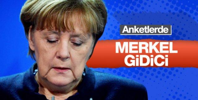 Anketlerde Schulz, Merkel'in önüne geçti