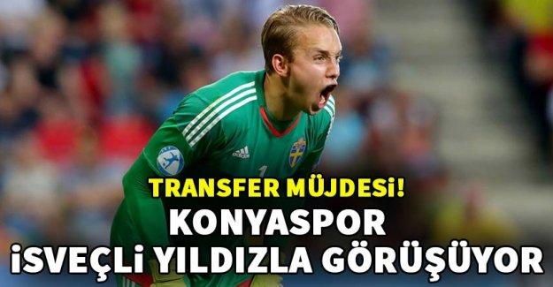 Atiker Konyaspor İsveçli yıldıza göz dikti!