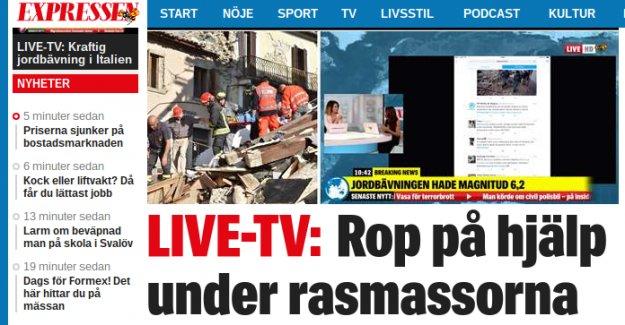 Avrupa'nın göbeğinde 6.2 büyüklüğünde deprem: En az 13 ölü