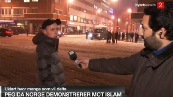 Canlı yayında İslam'a çirkin hakaret! FOTO
