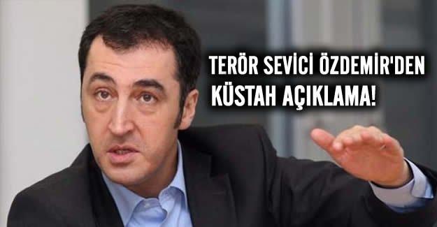 Cem Özdemir'den küstah açıklama
