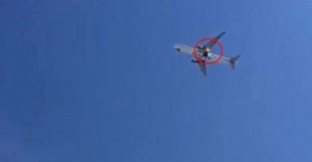 Dev Uçak Arlanda Havalimanın'da Büyük Tehlike Atlattı