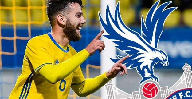 Erdal Rakip, Malmö'den Cyrstal Palace'a transfer oldu!