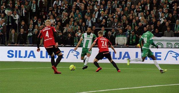 Erkan Zengin Hammarby'de ilk maçına çıktı
