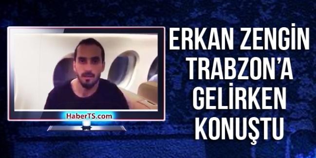 Erkan Zengin Uçakta Konuştu...video