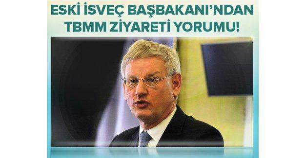 Eski İsveç Başbakanı Bildt: Geç olması hiç olmamasından iyidir.