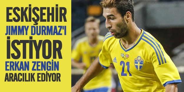 Eskişehirspor'dan Jimmy Durmaz bombası!