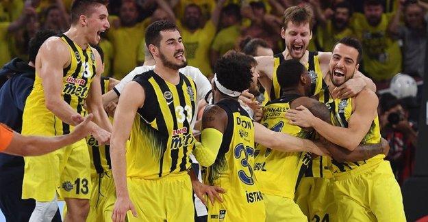 Fenerbahçe Euroleague'de şampiyon oldu
