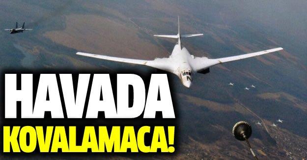 Fransız - İspanyol ve Rus jetleri birbirine girdi!