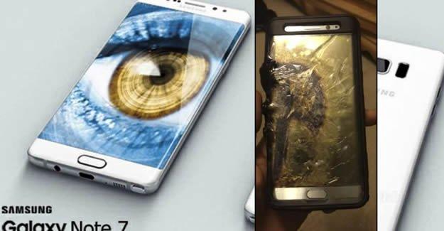 Galaxy Note 7 depremi İsveç'e de sıçradı
